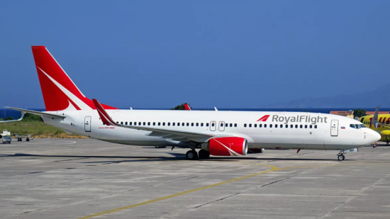 Боинг 737-800 Роял Флайт