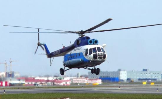Вертолет компании Баркол