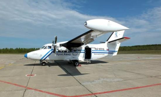 Самолет компании КрасАвиа