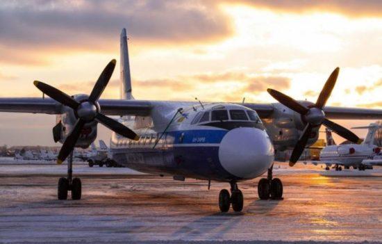 Самолет авиакомпании Пионер