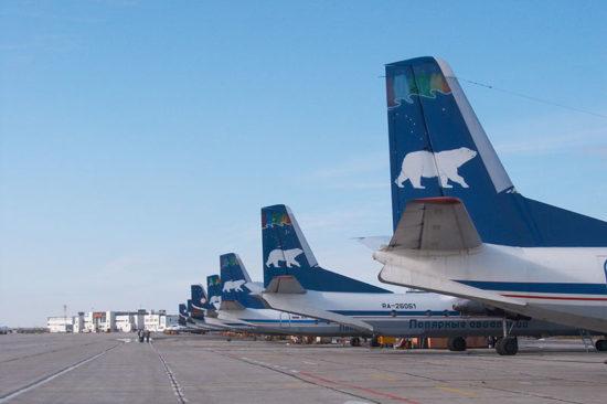 Самолеты авиакомпании Полярные авиалинии