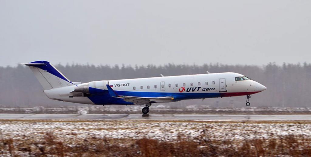 Canadair CRJ-200 ЮВТ Аэро