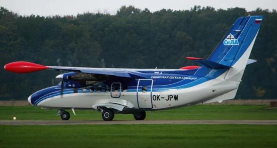 Let L-410«Turbolet» Сила