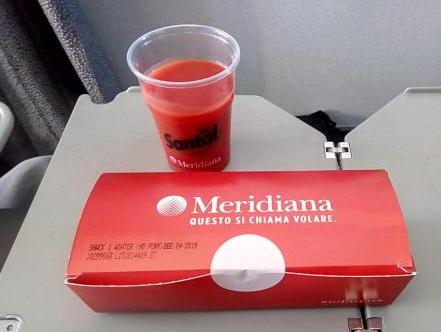 Питание Meridiana Fly