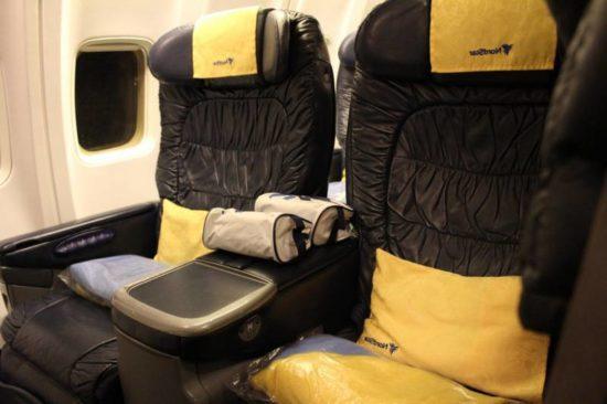 Бизнес класс NordStar Airlines