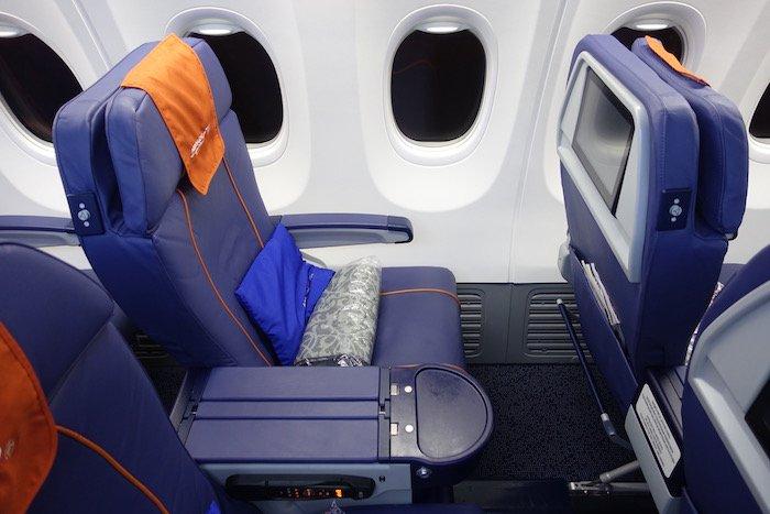 Бизнес-класс Boeing 737-800 Аэрофлот