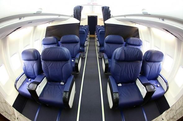 Бизнес-класс Boeing 737-500 Utair