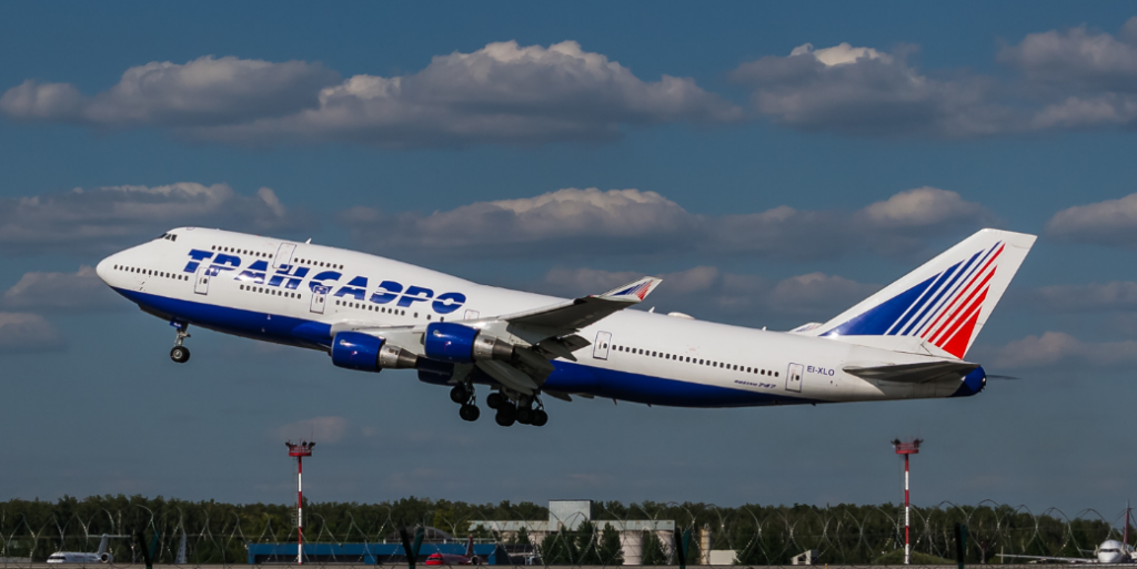 Боинг 747 Трансаэро