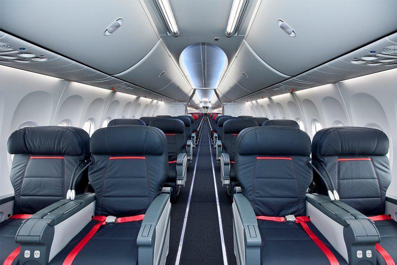 Салон самолета Боинг 737-800