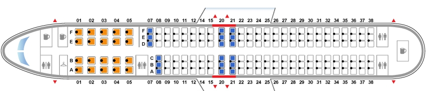Боинг 737 900 схема