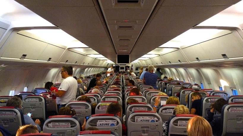 Салон самолета Boeing 767-300