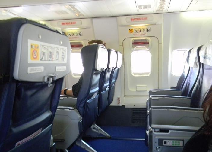 Салон Боинг 737-800 Якутия - эконом-класс
