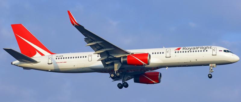 Boeing 757-200 Royal Flight