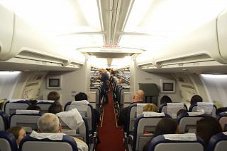 Эконом класс в самолете Боинг 757-200