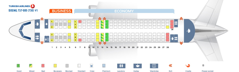 Боинг 737 800 схема салона лучшие места фото 533