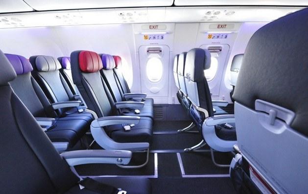 Салон Boeing 737-800Турецкие авиалинии