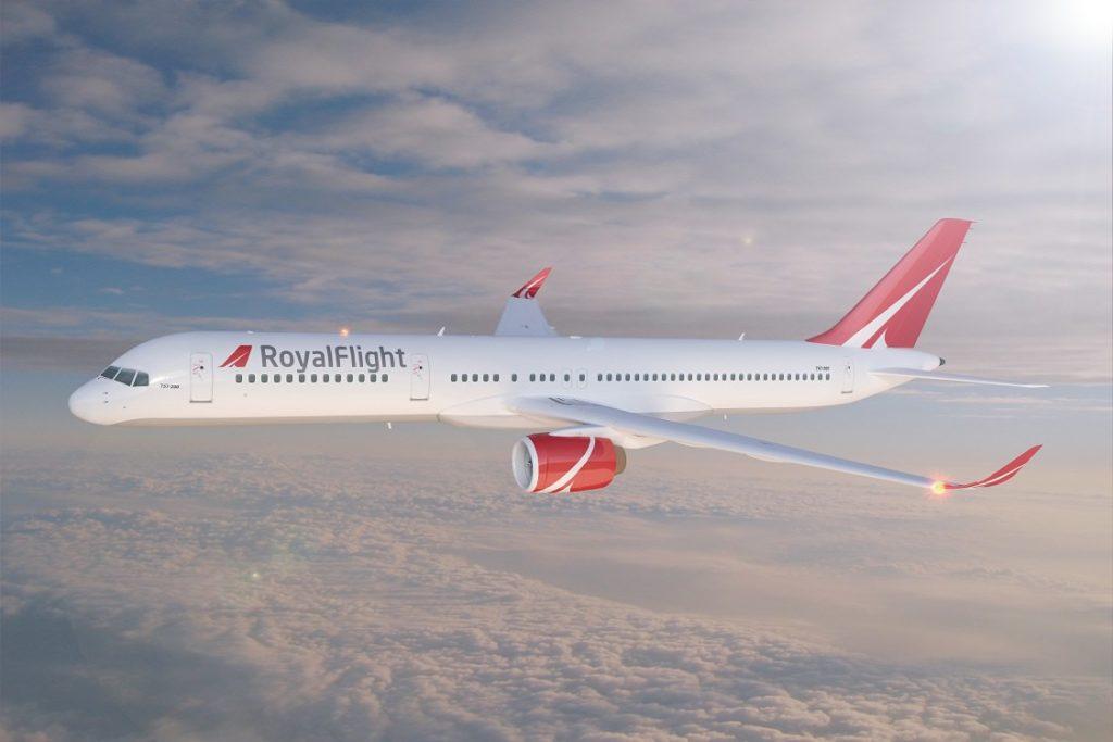 Самолет Боинг 757 200