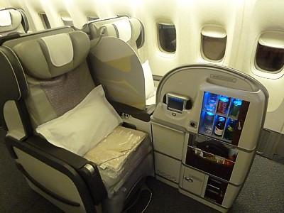 Бизнес-класс Boeing 777-300ER Emirates