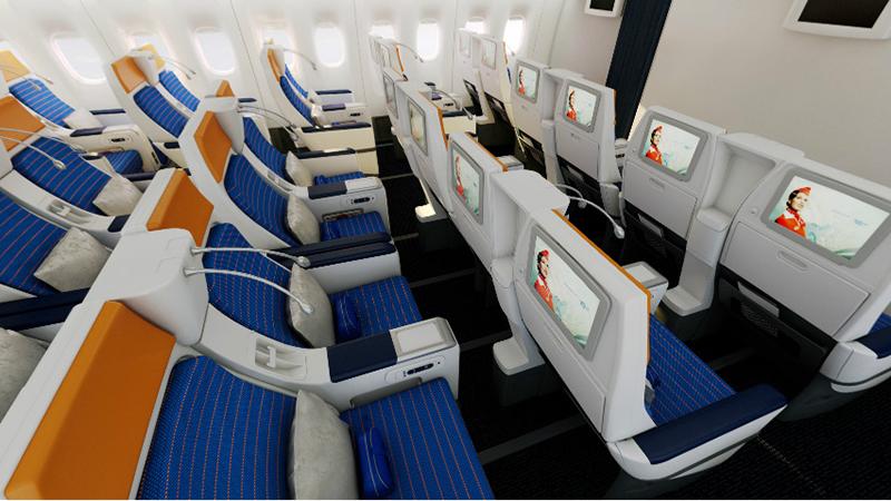 Расположение кресел в Boeing 777-300 Россия