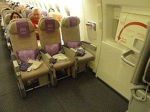 Салон Боинг 777-300ER Emirates