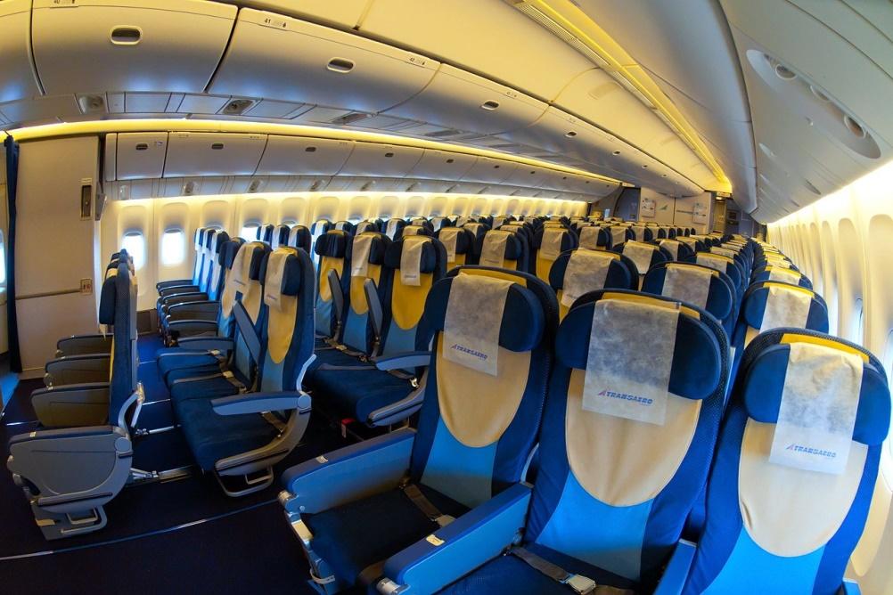 Расположение мест в Боинг 777-300 Аэрофлот