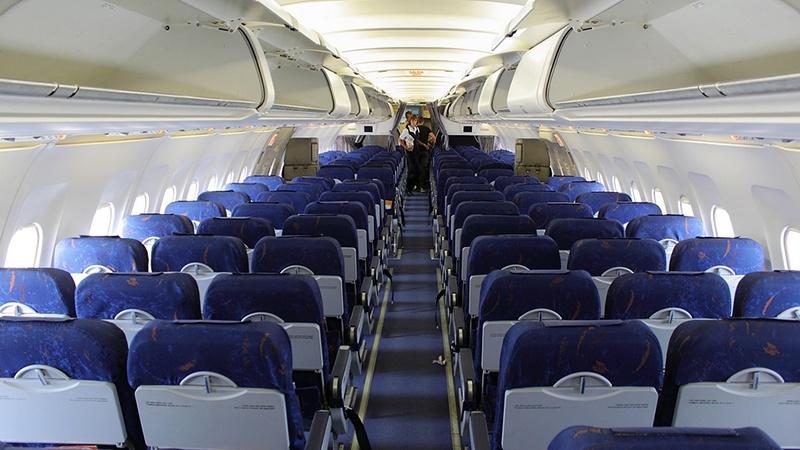 Салон Boeing 757-200 Вим-Авиа