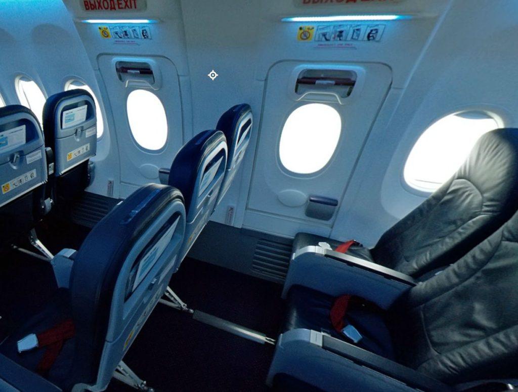 Лучшие места в Boeing 737-800 Россия