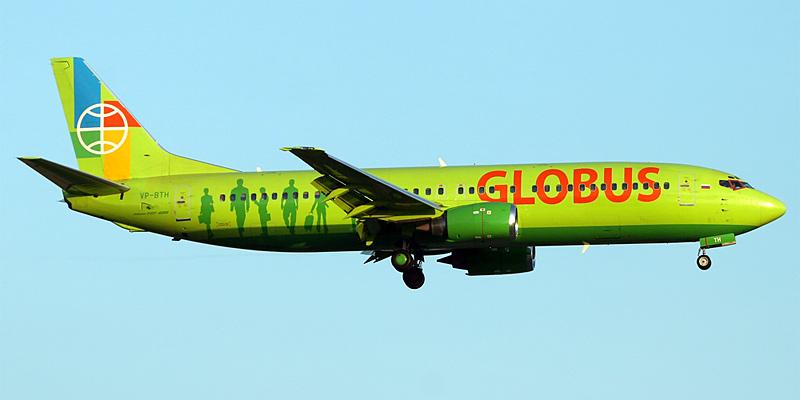 Боинг 737- 800 NG - авиакомпания Глобус