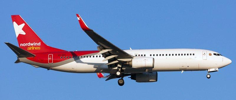 Самолет Boeing 737-800