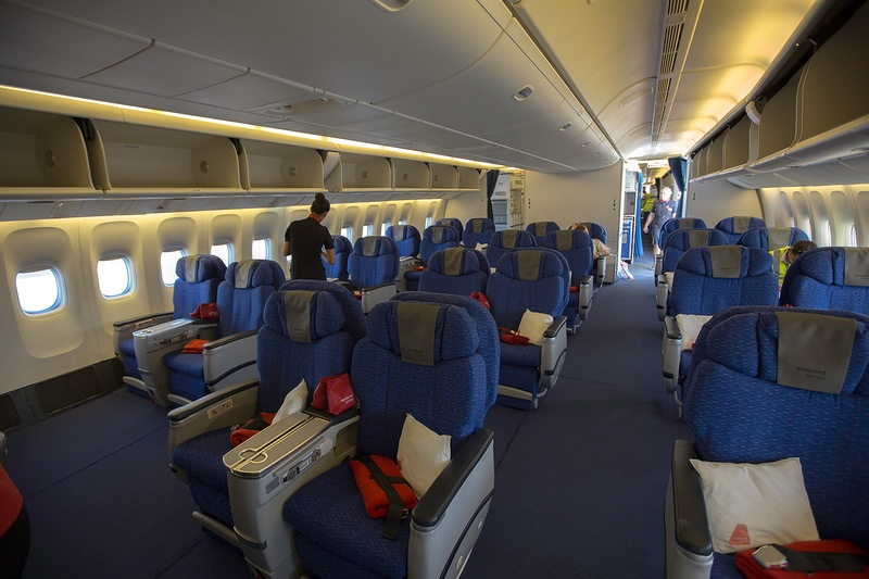 Бизнес-класс Nordwind Airlines