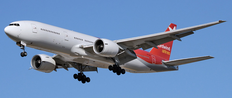 Самолет Boeing 777-200 Nordwind