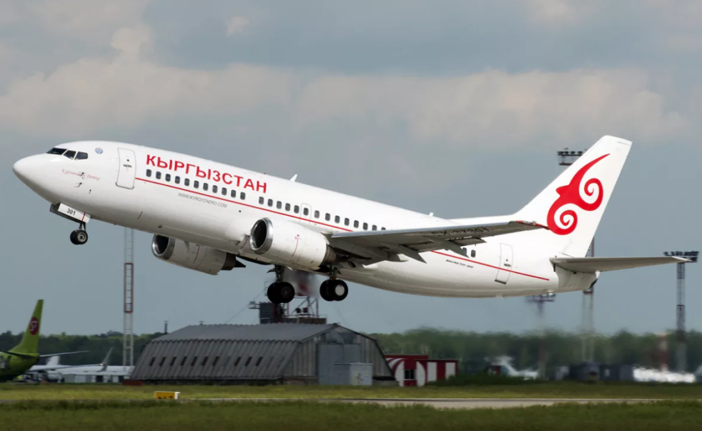 Кыргызстан Эйр Боинг-737