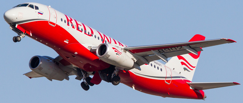Самолет Ту-204 Red Wings Airlines
