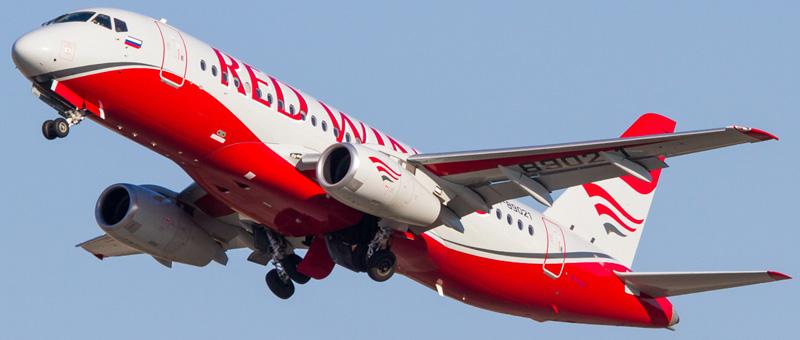 Фото Ту-204 «Ред Вингс»