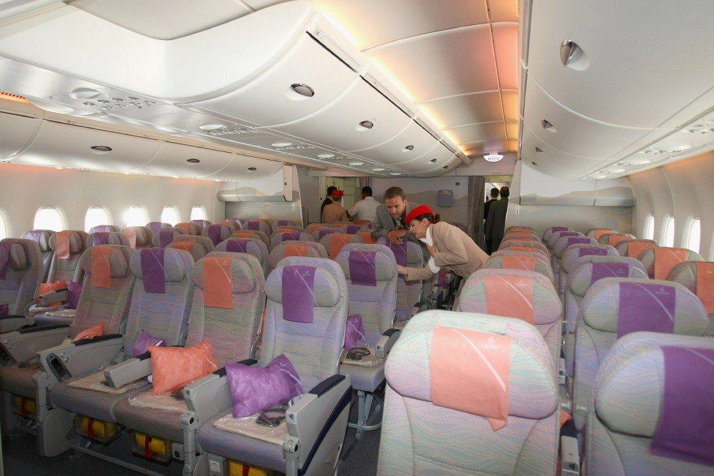 Расположение мест в салоне Airbus А380