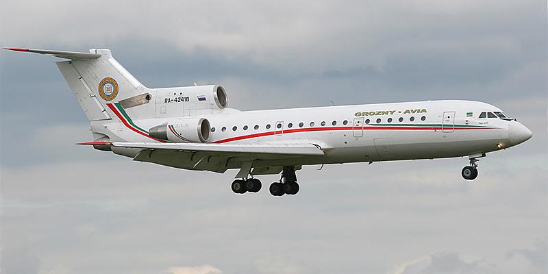 Самолет Як-42д