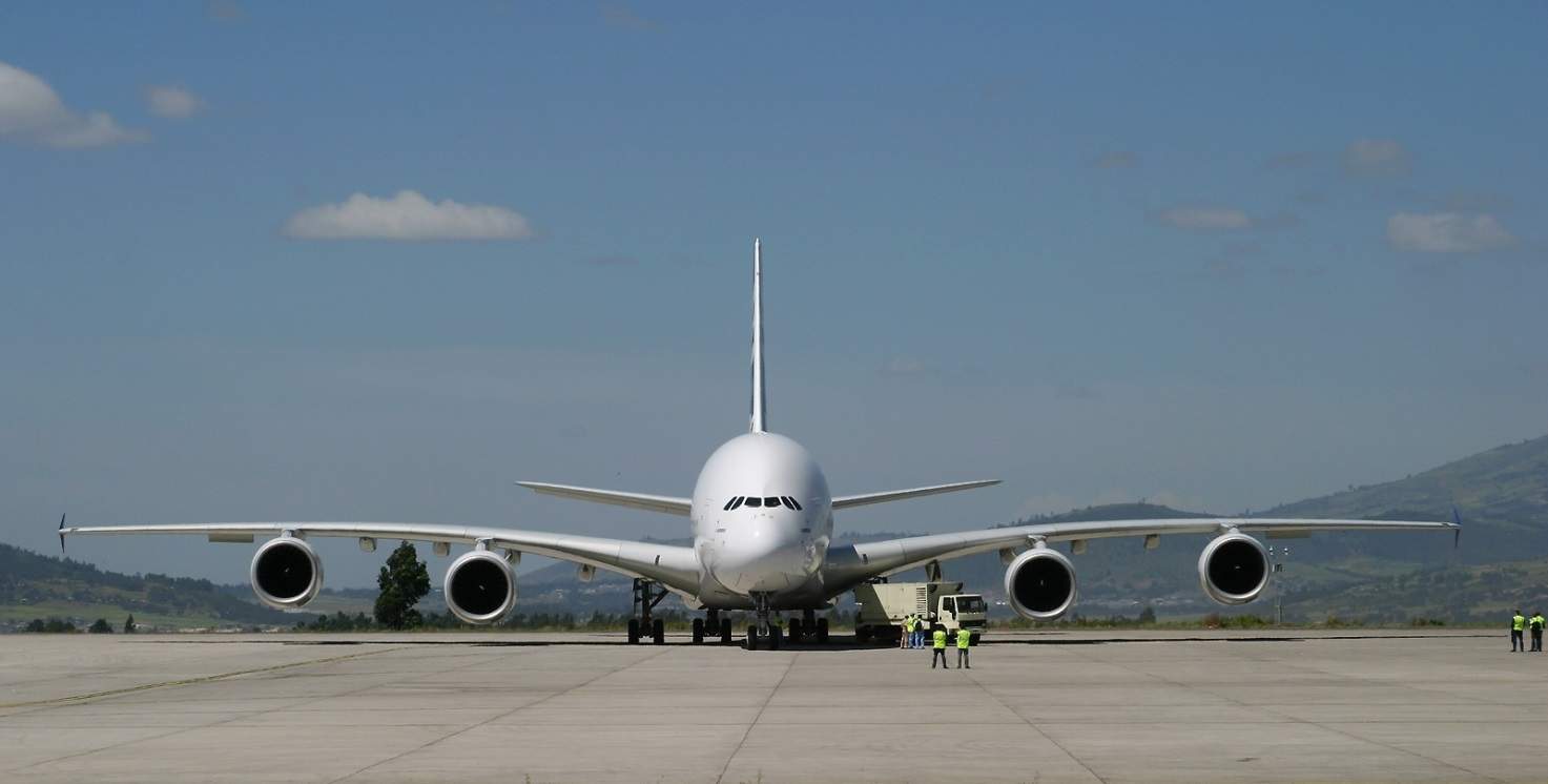 Самолет Airbus А380