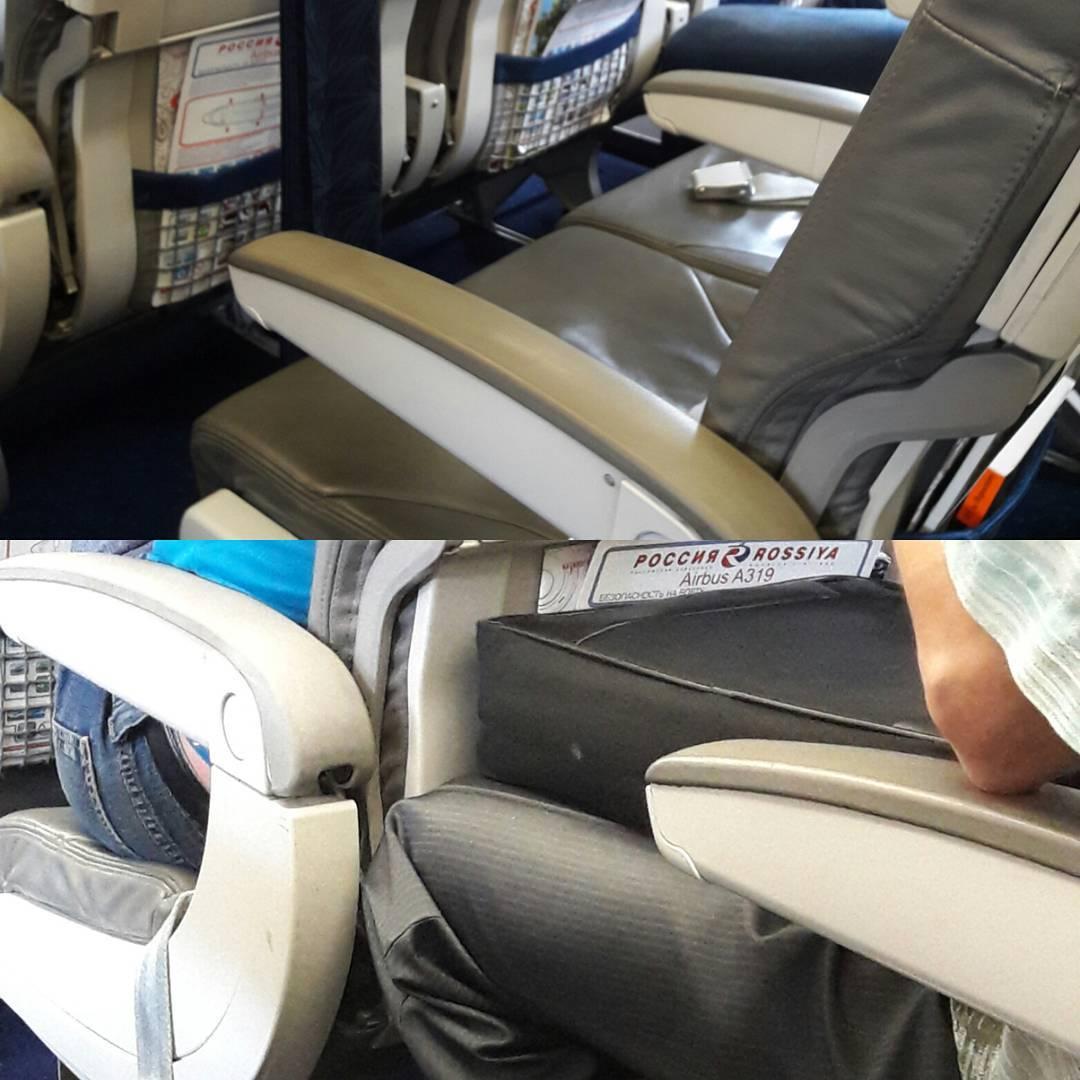 Расположение мест в самолете Airbus A319 Россия
