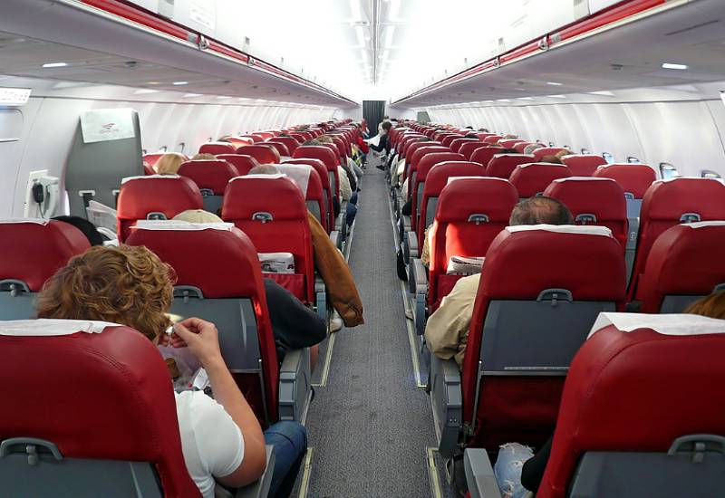 Фото салона Ту-204 компании «Ред Вингс»