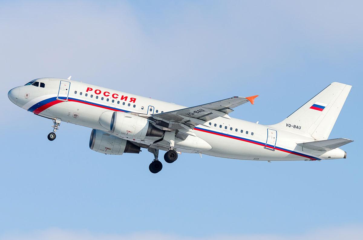Airbus A319 Россия
