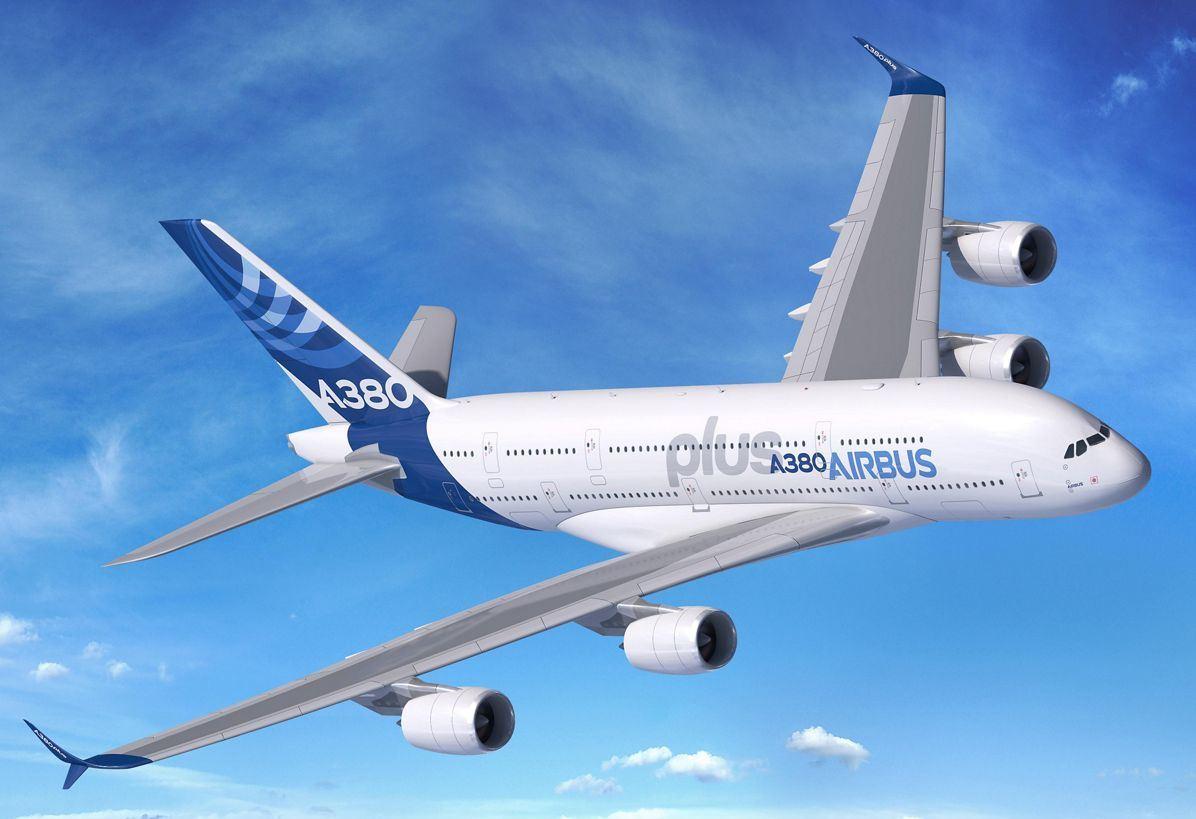 Фото самолета Airbus A380 plus