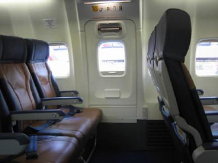 Салон самолета Аэробус A319 Аэрофлот