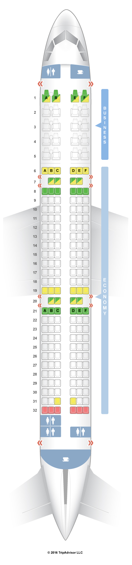 Схема салона вариант 2