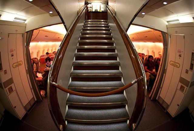 Салон самолета Airbus А380