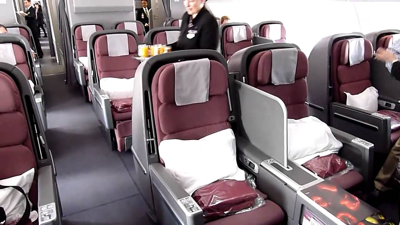 Бизнес-класс на Airbus А380 Qantas