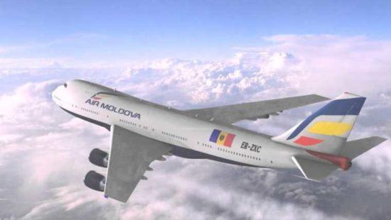 Самолет Air Moldova