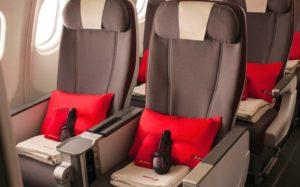 Преимиум-эконом класс - авиакомпания Иберия