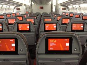 Эконом класс - самолет Иберия