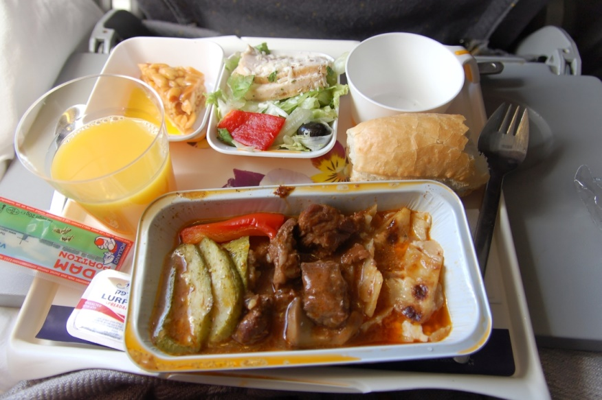 Питание на бортах авиакомпании Lufthansa