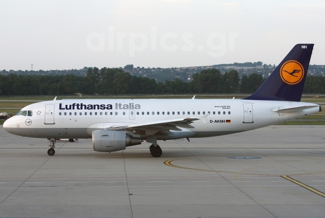 Самолет Airbus A319-100 Lufthansa